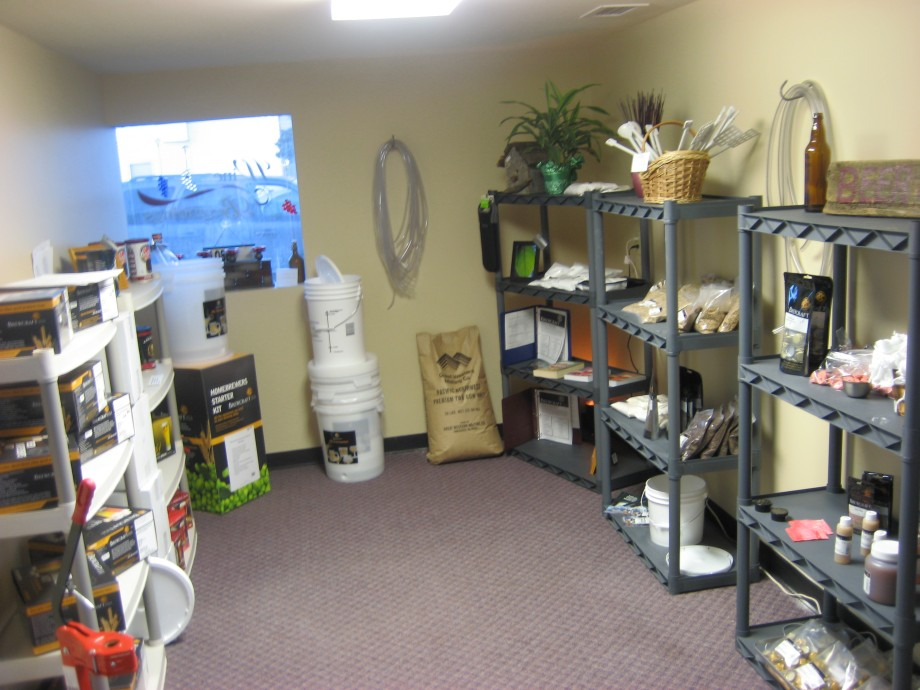 Come check out our beer kits in our new location