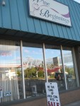 The store front of Wine Beginnings